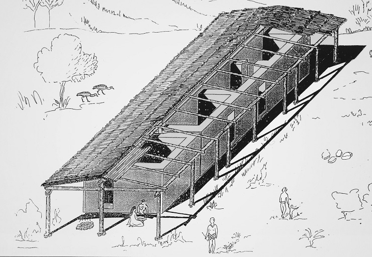 Separate longhouses divided into several interior spaces do not represent a Neolithic innovation in Central Europe.